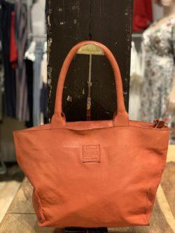 Legend Bag Bardot Leather Rust Oranje