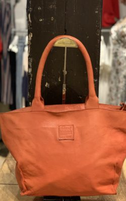 Legend Bag Bardot Leather Rust Oranje