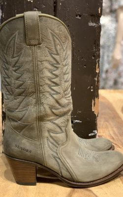 Sendra Boots Military Lavado Leather