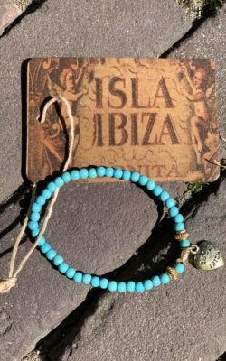 Isla Ibiza Bonita Armband Turquoise Hartje