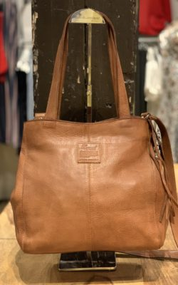 Legend Bag Desio Leather Cognac