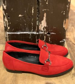 Loafers Rood