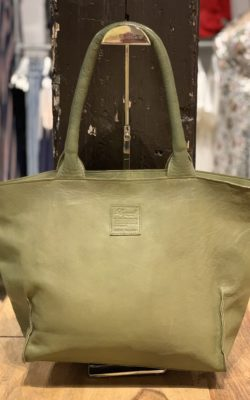 Legend Bag Bardot Leather Military-Green