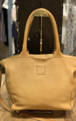 Legend Bag Bardot Leather Cognac Okergeel