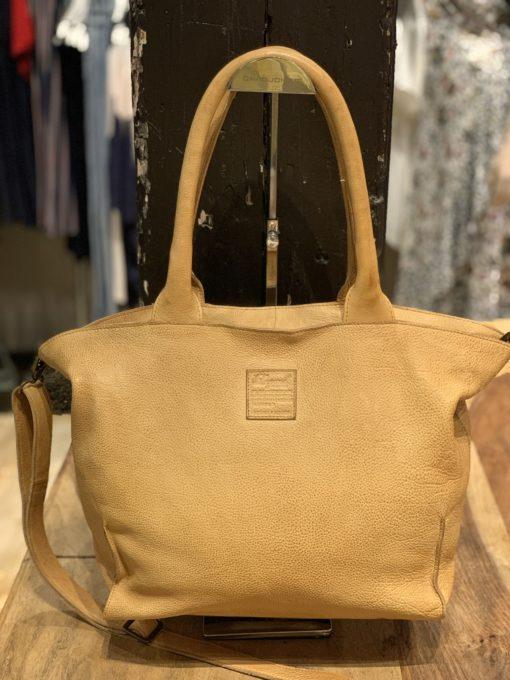 Legend Bag Bardot Leather Cognac Okergeel