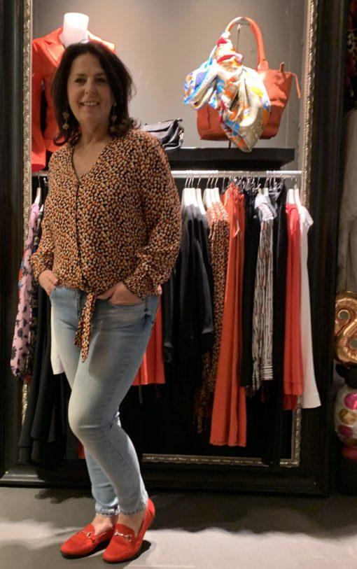Zizo Skinny jeans studs