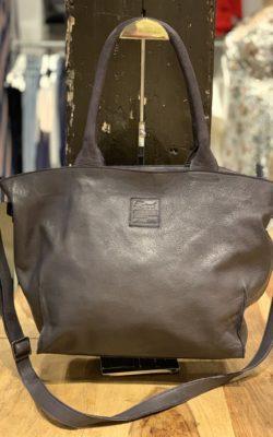 Legend Bag Bardot Leather Navy Donkerblauw