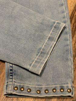Zizo Skinny stretch jeans studs.