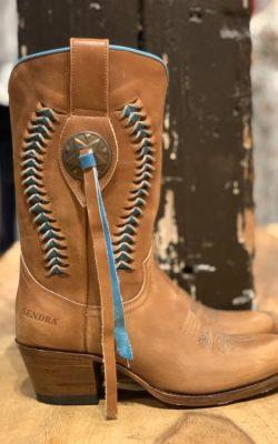 Sendra Boots Cognac Aqua Olipia Lavado Brass Leather