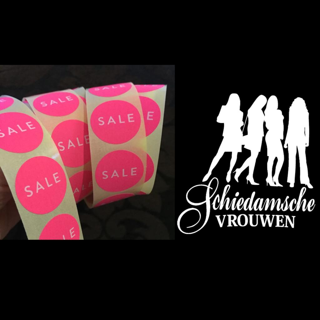 Super SALE bij Schiedamsche Vrouwen, Grote Markt 21 Schiedam