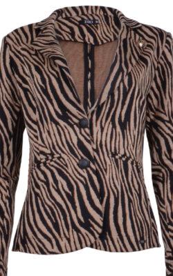Zizo Comfy Blazer Maud Tiger Bronze