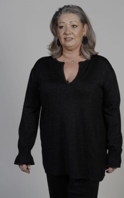 Exxcellent Tuniek Kristy Zwart