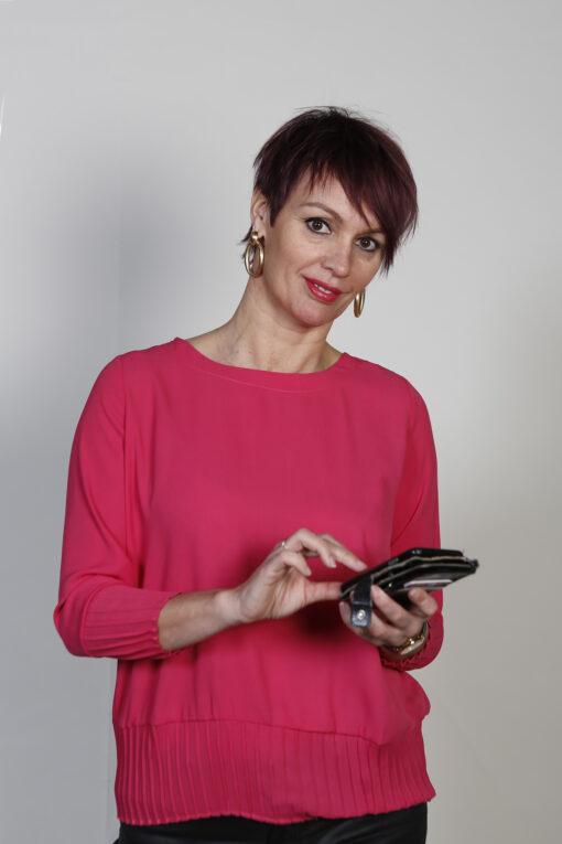 Molly Bracken Blouse Fuchsia Roze