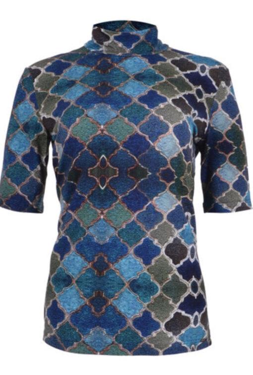 Maicazz top Milou Oriental Blue